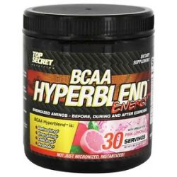 Top Secret Nutrition BCAA Hyperblend Energy Pink Lemonade 6 08 Oz