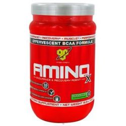 BSN Amino x BCAA Endurance and Recovery Agent Green Apple 15 3 Oz