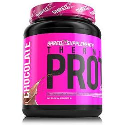 Shredz Supplements Thermogenic Protein Made for Women Chocolate 32 Oz