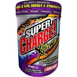 Labrada Super Charge Xtreme Pre Training Drink Mix Grape 1 76 Lbs