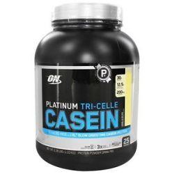 Optimum Nutrition Platinum Tri Celle Casein Vanilla Bliss 2 26 Lbs
