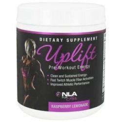 NLA for Her Uplift Pre Workout Energy Raspberry Lemonade 210 Grams
