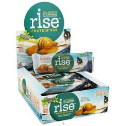 Rise Foods Rise Protein Bar Almonds Honey 2 1 oz formerly Boomi Bar