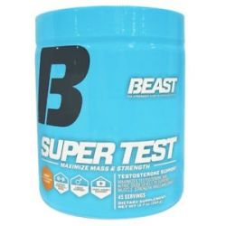 Beast Sports Nutrition Super Test Powder Iced T Flavor 12 7 Oz