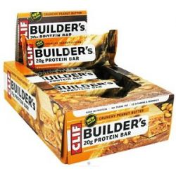 Clif Bar Builder's Protein Crisp Bar Crunchy Peanut Butter 2 4 Oz