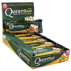 Quest Nutrition Quest Bar Protein Bar Peanut Butter Supreme 2 12 Oz