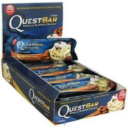 Quest Nutrition Quest Bar Protein Bar Vanilla Almond Crunch 2 12 Oz