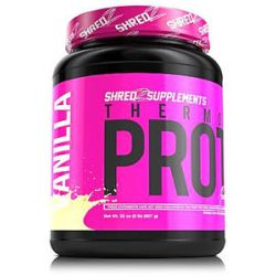 Shredz Supplements Thermogenic Protein Made for Women Vanilla 32 Oz