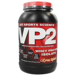 AST Sports Science VP2 Whey Protein Isolate Citrus Splash 2 Lbs