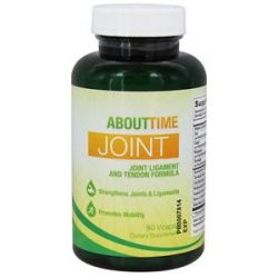 About Time Joint Ligament Tendon Formula 90 Vegetarian Capsules