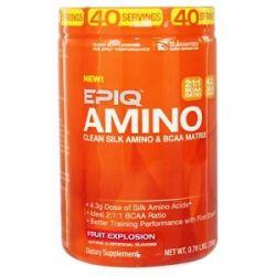 Epiq Amino Clean Silk Amino BCAA Matrix Fruit Explosion 0 78 Lb