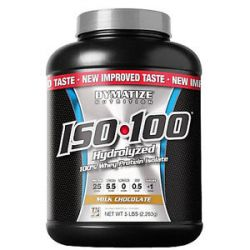 Dymatize Nutrition ISO 100 100 Hydrolyzed Whey Protein Isolate Milk Chocolate