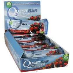Quest Nutrition Quest Bar Protein Bar Mixed Berry Bliss 2 12 Oz
