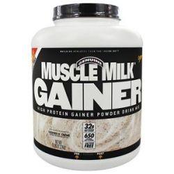 CytoSport Muscle Milk Genuine High Protein Gainer Powder Drink Mix Cookies N'