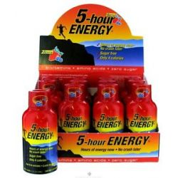 5 Hour Energy Energy Shot 1 Box 12 Bottles Berry Flavor 2 Oz 719410500122