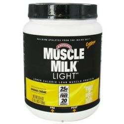 CytoSport Muscle Milk Genuine Light Lower Calorie Lean Muscle Protein Banana 660726593400