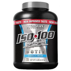 Dymatize Nutrition ISO 100 100 Hydrolyzed Whey Protein Isolate Vanilla Cream