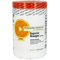 FOODSCIENCE of Vermont Superior Oranges with CoQ10 Fatigue Fighter 300 Grams
