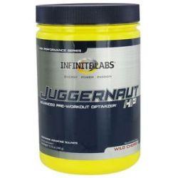Infinite Labs Juggernaut HP Pre Workout Wild Cherry 13 75 Oz