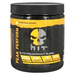 Hit Supplements Peak Performance Elite Pre Workout Blend Pineapple Mango 328
