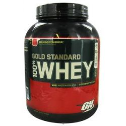 Optimum Nutrition 100 Whey Gold Standard Protein Delicious Strawberry 5 Lbs