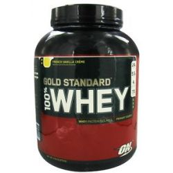 Optimum Nutrition 100 Whey Gold Standard Protein French Vanilla Creme 5 Lbs