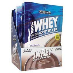 Biochem by Country Life 100 Whey Protein Powder Packet Chocolate Fudge 1 1