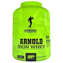 Muscle Pharm Arnold Schwarzenegger Series Arnold Iron Whey Chocolate 2 Lbs
