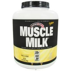 CytoSport Muscle Milk Genuine Nature's Ultimate Lean Muscle Protein Vanilla