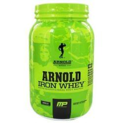 Muscle Pharm Arnold Schwarzenegger Series Arnold Iron Whey Vanilla 2 Lbs