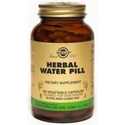 Solgar Herbal Water Pill 100 Vegetarian Capsules formerly Natural Herbal