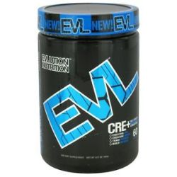 EVL Nutrition Cre Maximum Strength Creatine 60 Servings Blue RAZ 12 7 Oz