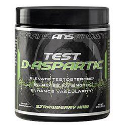 ANS Advanced Nutrition Systems Test D Aspartic Strawberry Kiwi 240 Grams