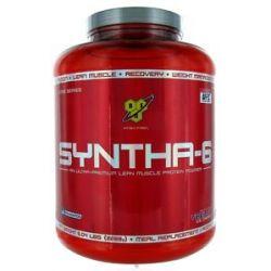 BSN Syntha 6 Sustained Release Protein Powder Vanilla Ice Cream 5 04 Lbs