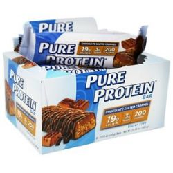 Pure Protein Gluten Free Protein Bar Chocolate Salted Caramel 6 Pack 1 76