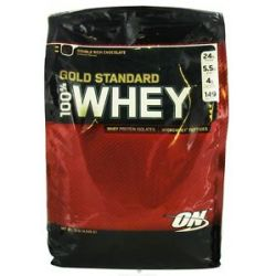 Optimum Nutrition 100 Whey Gold Standard Protein Double Rich Chocolate 10
