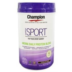 Champion Naturals Sport Natural Daily Protein Blend Chocolate Chunk 25 Oz