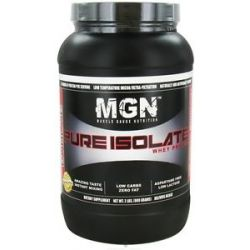 Muscle Gauge Nutrition Pure Isolate Whey Protein Ice Cream Sandwich 2 Lbs