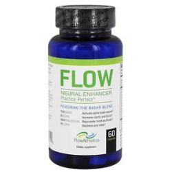 Flow Athletics Flow Neural Enhancer Pre Workout for Your Mind 60 Capsules