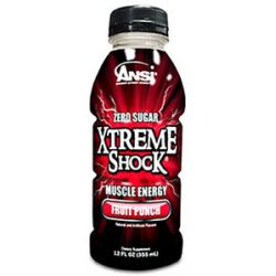 ANSI Advanced Nutrient Science Xtreme Shock RTD Muscle Energy Fruit Punch