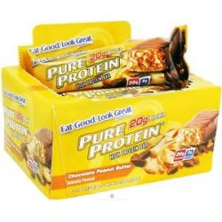 Pure Protein High Protein Bar Chocolate Peanut Butter 6 x 1 76 oz Bars