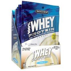 Biochem by Country Life 100 Whey Protein Powder Packet Vanilla 1 07 Oz