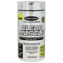 MuscleTech Products Clear Muscle Performance Series 168 Liquid Capsules