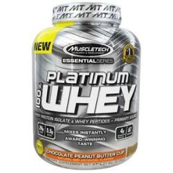 MuscleTech Products Platinum Essential Series 100 Whey Chocolate Peanut