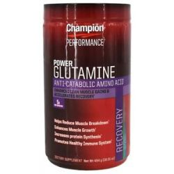 Champion Performance Power Glutamine Anti Catabolic Amino Acid 16 01 Oz