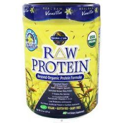 Garden of Life Raw Protein Beyond Organic Protein Formula Vanilla 22 Oz