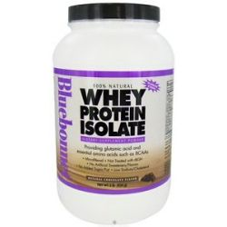 Bluebonnet Nutrition 100 Natural Whey Protein Isolate Powder Natural