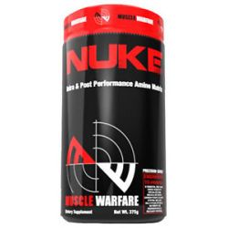 Muscle Warfare Nuke Intra Post Performance Amino Matrix Watermelon 30