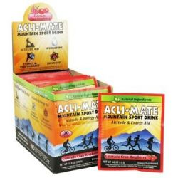 Acli Mate Mountain Sport Drink Colorado Cran Raspberry 30 Packet S