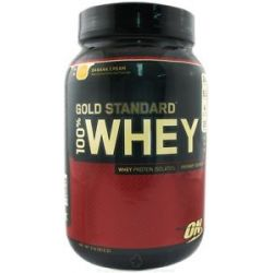 Optimum Nutrition 100 Whey Gold Standard Protein Banana Cream 2 Lbs 748927022889